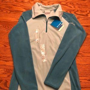 NWT Columbia quarter zip fleece. Size M